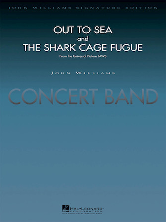 """Product Cover for """"Out to Sea"""" and """"The Shark Cage Fugue"""" (from Jaws)"""