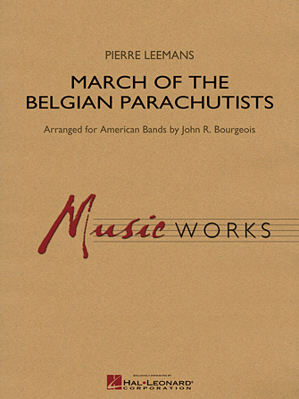 Product Cover for March of the Belgian Parachutists