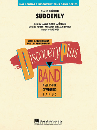 Product Cover for Suddenly (from Les Misérables)