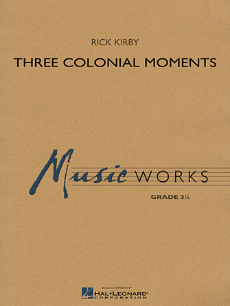 Product Cover for Three Colonial Moments