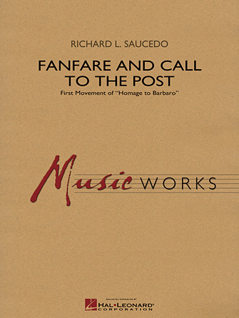 Product Cover for Fanfare and Call to the Post