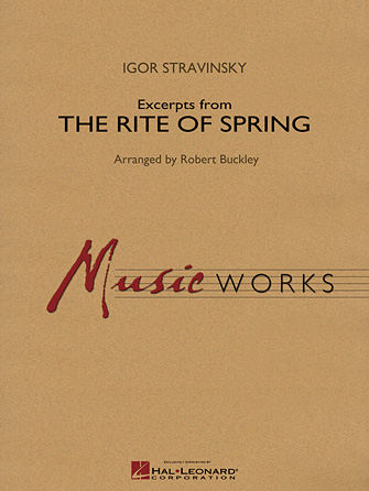 Product Cover for Excerpts from The Rite of Spring