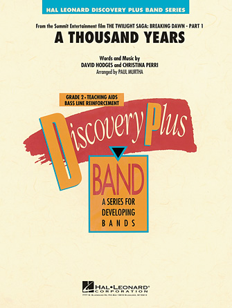 Product Cover for A Thousand Years (from The Twilight Saga: Breaking Dawn, Part 1)