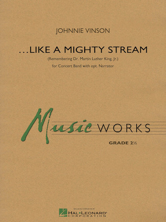 Product Cover for Like a Mighty Stream (for Concert Band and Narrator)