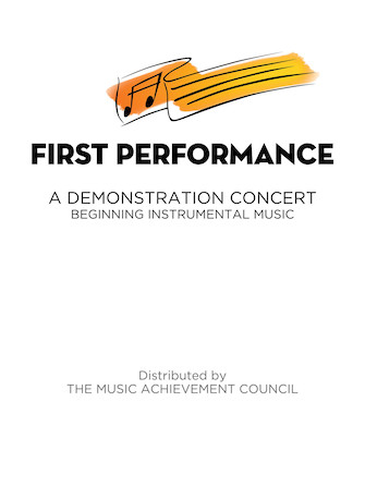 Product Cover for First Performance for Band