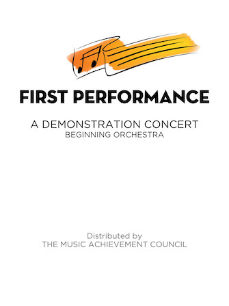 Product Cover for First Performance for Orchestra