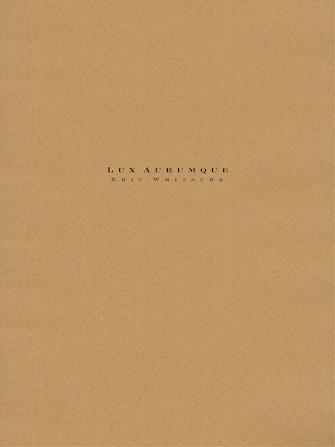 Product Cover for Lux Aurumque – Full Orchestra