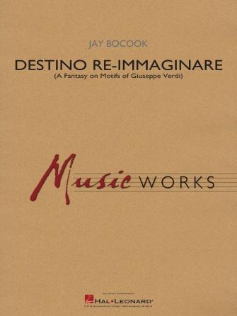 Product Cover for Destino Re-Immaginare (A Fantasy on Motifs of G. Verdi)