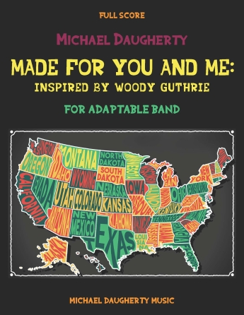 Product Cover for Made for You and Me: Inspired by Woody Guthrie