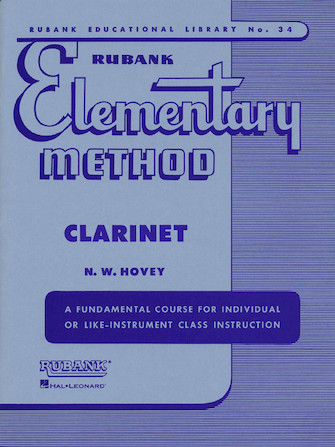 Product Cover for Rubank Elementary Method – Clarinet