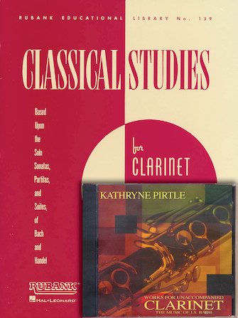 Product Cover for Classical Studies for Clarinet