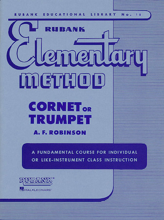 Product Cover for Rubank Elementary Method - Cornet or Trumpet