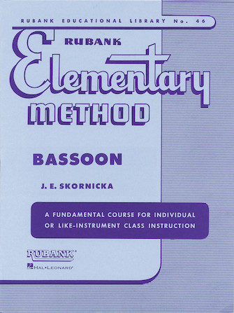 Product Cover for Rubank Elementary Method – Bassoon