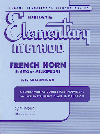 Product Cover for Rubank Elementary Method - French Horn in F or E-Flat and Mellophone