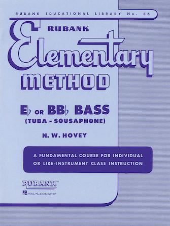 Product Cover for Rubank Elementary Method - Bass/Tuba (B.C.)