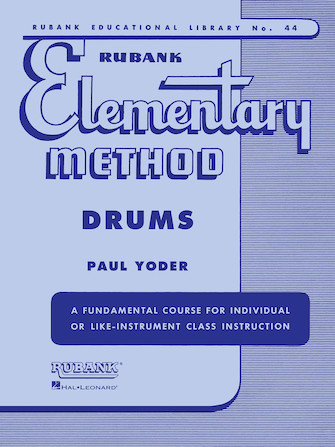Product Cover for Rubank Elementary Method - Drums