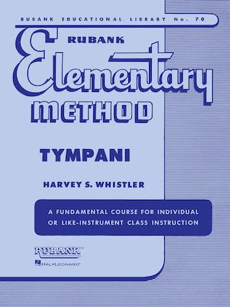 Product Cover for Rubank Elementary Method - Timpani