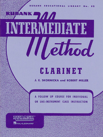 Product Cover for Rubank Intermediate Method – Clarinet