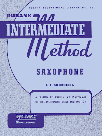 Product Cover for Rubank Intermediate Method – Saxophone