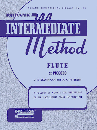 Product Cover for Rubank Intermediate Method – Flute or Piccolo