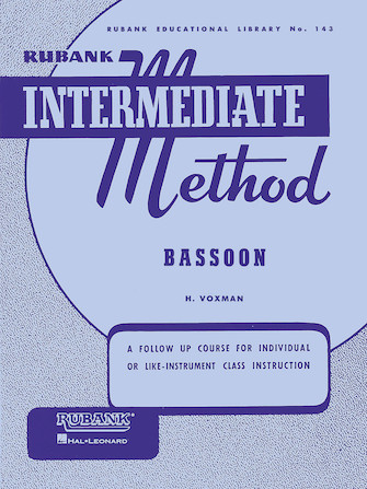 Product Cover for Rubank Intermediate Method – Bassoon