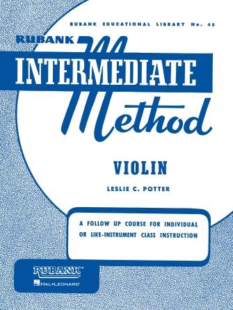 Product Cover for Rubank Intermediate Method – Violin