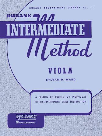 Product Cover for Rubank Intermediate Method – Viola