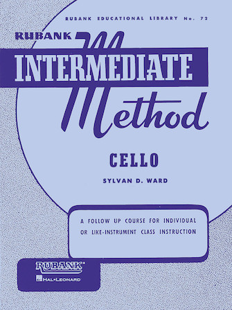 Product Cover for Rubank Intermediate Method – Cello