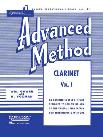 Product Cover for Rubank Advanced Method – Clarinet Vol. 1