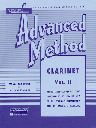 Product Cover for Rubank Advanced Method – Clarinet Vol. 2