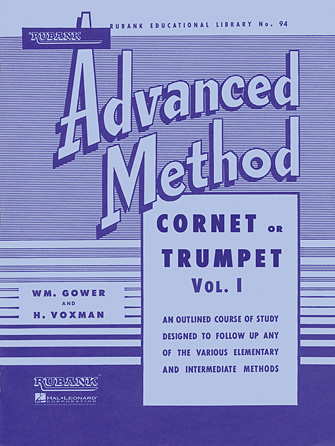 Product Cover for Rubank Advanced Method – Cornet or Trumpet, Vol. 1