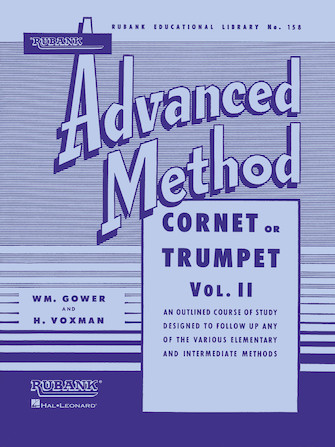 Product Cover for Rubank Advanced Method – Cornet or Trumpet, Vol. 2