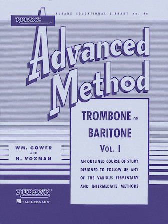 Product Cover for Rubank Advanced Method – Trombone or Baritone, Vol. 1