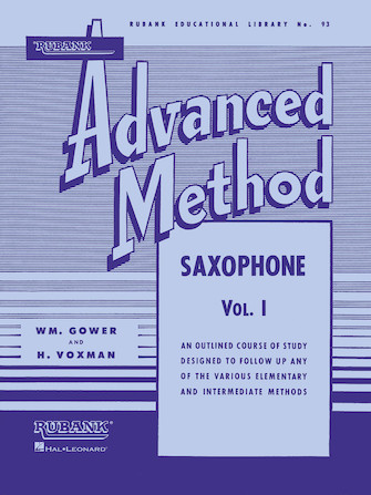 Product Cover for Rubank Advanced Method – Saxophone Vol. 1
