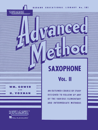 Product Cover for Rubank Advanced Method – Saxophone Vol. 2