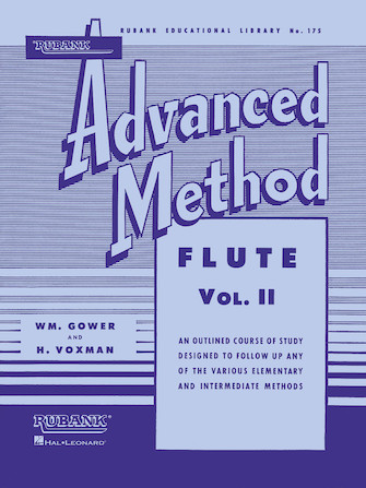 Product Cover for Rubank Advanced Method – Flute Vol. 2