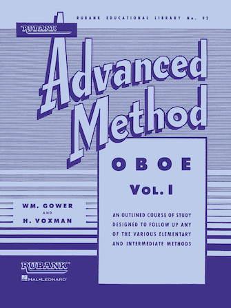 Product Cover for Rubank Advanced Method – Oboe Vol. 1