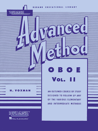 Product Cover for Rubank Advanced Method – Oboe Vol. 2