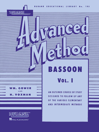 Product Cover for Rubank Advanced Method – Bassoon Vol. 1
