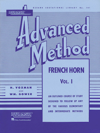 Product Cover for Rubank Advanced Method – French Horn in F or E-flat, Vol. 1