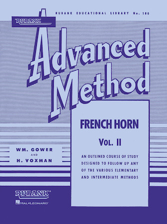 Product Cover for Rubank Advanced Method – French Horn in F or E-flat, Vol. 2