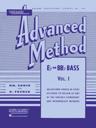 Product Cover for Rubank Advanced Method, Vol. 1 - Bass/Tuba (B.C.)