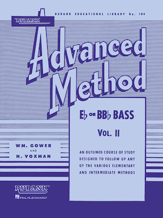 Product Cover for Rubank Advanced Method, Vol. 2 - Bass/Tuba (B.C.)