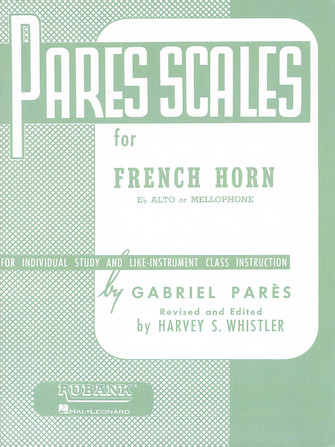 Product Cover for Pares Scales – French Horn in F or E-flat and Mellophone