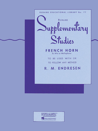 Product Cover for Supplementary Studies – French Horn in F or E-flat and Mellophone