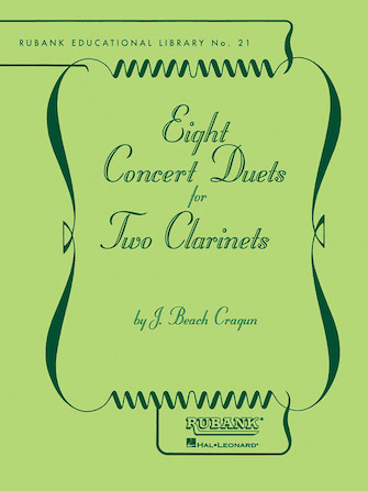Product Cover for Eight Concert Duets for Two Clarinets