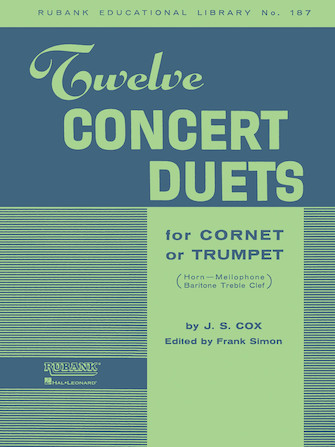 Product Cover for Twelve Concert Duets for Cornet or Trumpet