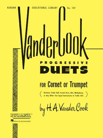 Product Cover for Vandercook Progressive Duets for Cornet or Trumpet