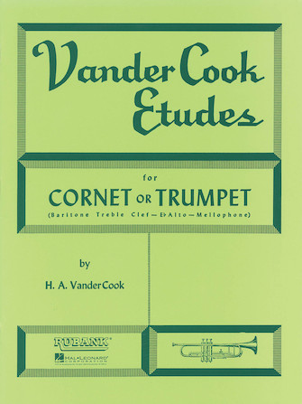 Product Cover for Vandercook Etudes For Cornet Or Trumpet