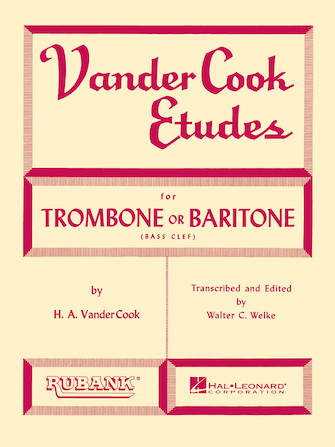 Product Cover for Vandercook Etudes for Trombone or Baritone
